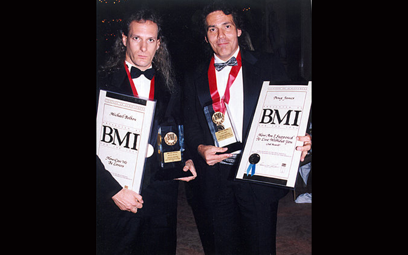 Doug James-Award Winning Singer-Songrwriter and Michael Bolton