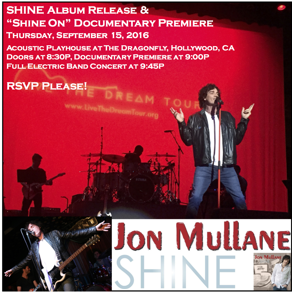Jon Mullane - Shine On Documentary