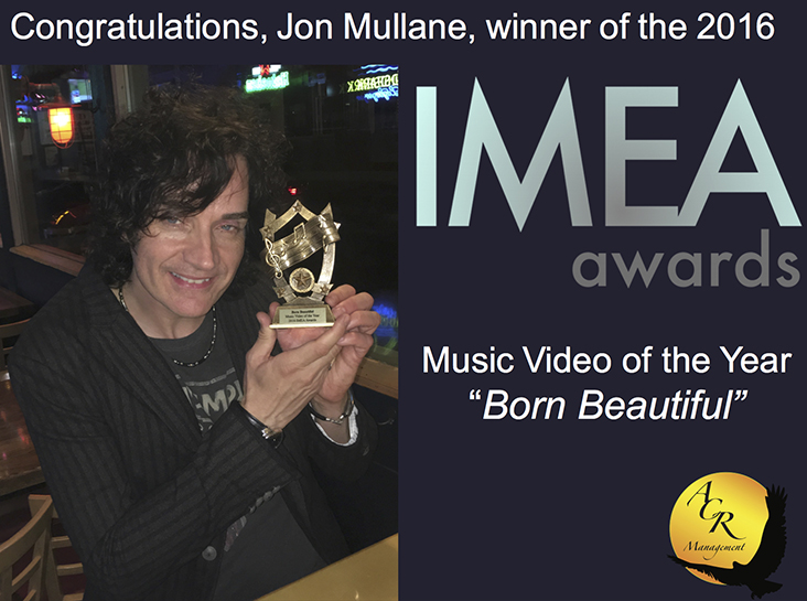 Jon Mullane - winner of the IMEA Music Video of the Year